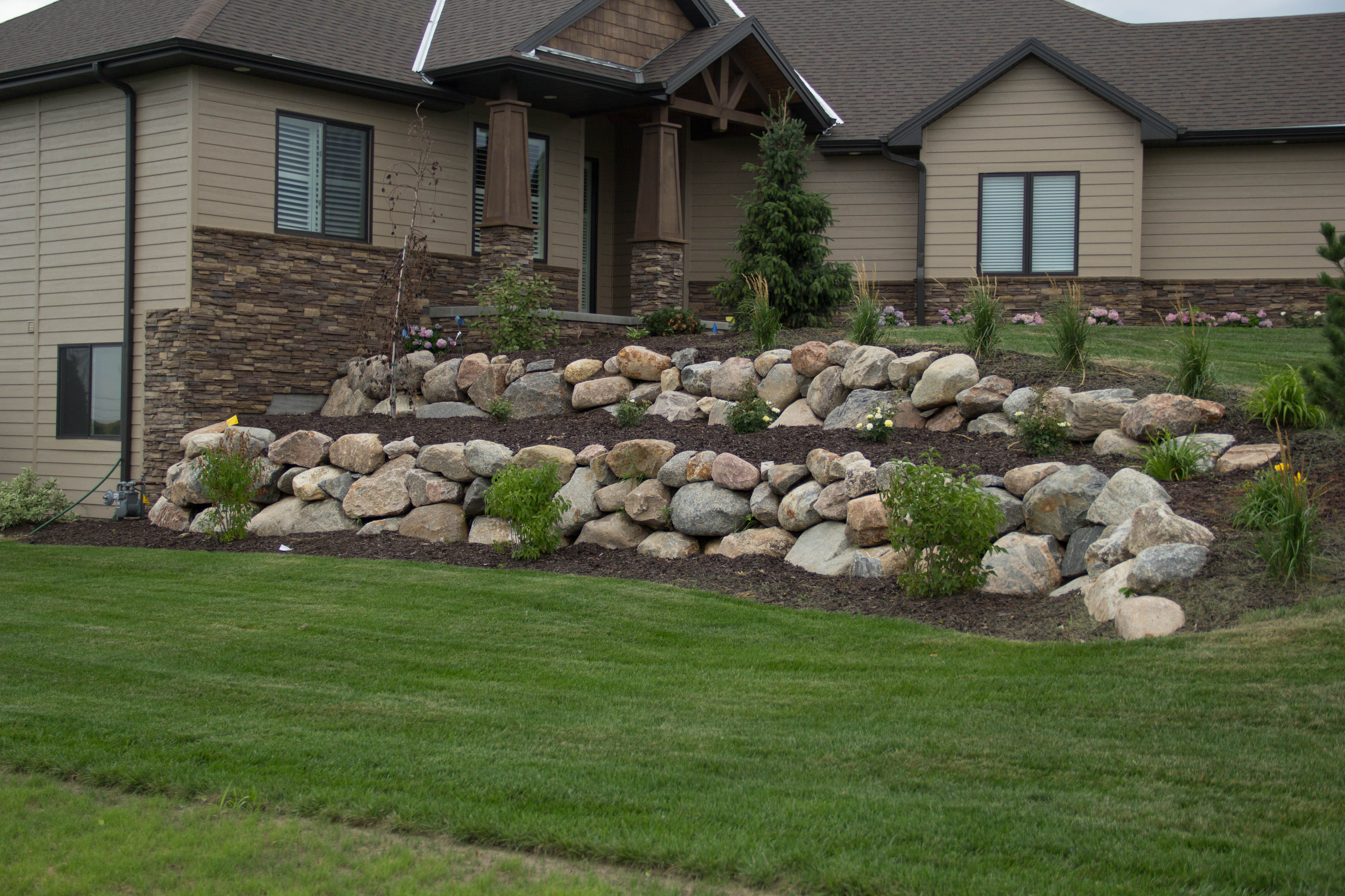 Stone All Natural Landscape